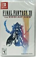 NEW  Final Fantasy XII 12 The Zodiac Age  HD Remaster Nintendo Switch Video Game