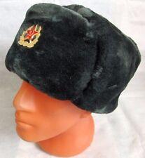 Genuine Russian Army Officer Military Fur Ushanka Hat Special Quality Headwear