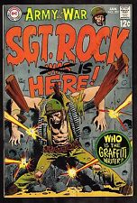 Our Army #201 ~ Sgt. Rock ~ 1969 (5.0) WH