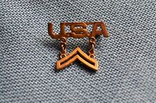 U.S.A. WWII Sweetheart Pin for a Corporal