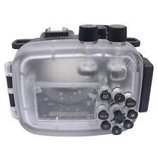Mcoplus J5 40M/130ft Camera Underwater Housing Case For Nikon1 J5 10-30mm Lens