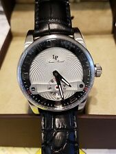 Lucien Piccard Men's 'Bosphorus' Quartz Stainless Steel and Leather