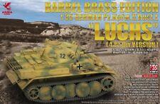 """Asuka 35089 1/35 Pz.Kpfw.Ii Ausf.L """"Luchs"""" (4.Pz.Div) w/Brass Barrel"""