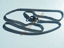 Chaine Fine Serpentine 3 Dimensions Pur Acier Inox 2 mm