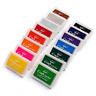 Craft Ink Pad Stamps Partner Diy Color 15 Color Craft Ink Pad for Stamps Paper