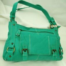 Sirocco Green Handbag Two Handle Shoulder Bag