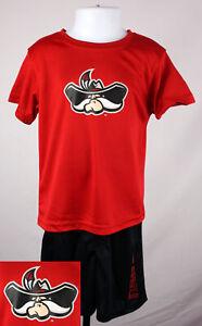 UNLV Rebels Shirt & Shorts Baby 4T Red Toddler Shirt & Shorts Set New ST165