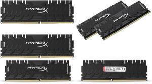 HyperX HX430C15PB3K2/16 16 GB DDR4 CL15 DIMM Memory Kit - Black UK POST FREE