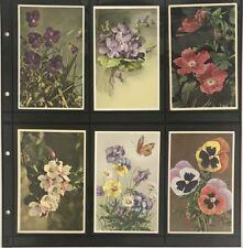 Lighthouse Maximum Wide Pages 6 Pockets Vintage Postcards Vertical Black Sheets