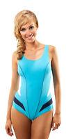 Ladies Endurance Swimming Costume One Piece Swimsuit Swimwear