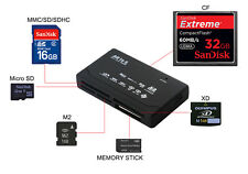 Mehrfunktional 5in1 Kartenleser USB 2.0 Adapter für Memory XD CF SD SDXC Card