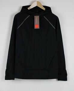 RRP£80 SWEATY BETTY SPRINT START Women SMALL Thermal Black Sport Hoodie 21271*