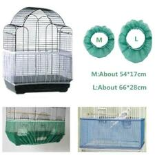 Bird Cage Seed Catcher Nylon Mesh Guard Skirt Net Pet Cover Cleaning Shell Cover