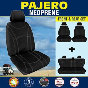 Mitsubishi Pajero (NT, NW, NX) 2009-On Neoprene FRONT & REAR Seat Covers