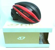 Giro Synthe Cycling Helmet Red Matte Black Small