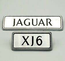 JAGUAR XJ6 Rear Emblem LOGO Badge Set of 2 ~ JAGUAR , XJ6 ~ From 1990 XJ6