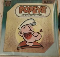 ORIGINAL RADIO BROADCAST Popeye -Four Muscle Popping Episodes LP Golden Age EXE