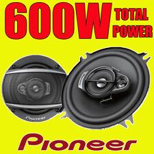 Pioneer 600w total de 3 vías 5.25 Pulgadas 13cm coche van door/shelf Altavoces Coaxiales Par