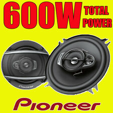 PIONEER 600W TOTAL 3-WAY 5.25 INCH 13cm CAR VAN DOOR/SHELF COAXIAL SPEAKERS PAIR
