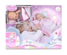 Nenuco Baby Cot Sleep with Me Colour Pink With Soft Light & Crib Soft Music