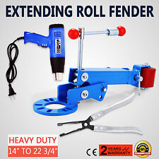 Extending Fender Roller Kit W/1500w Heat Gun Lip Rolling Wheel Arch Car Truck