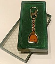 RARE Vintage 80's GUCCI Latch Keychain in Original Box - BUY NOW - MAKE OFFER