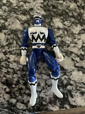 Power Rangers Lost Galaxy Action Figure Blue 1998 Bandai Movable 5-1/2?