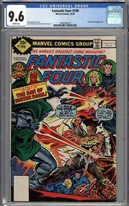 Fantastic Four #199 CGC 9.6 NM+ RARE Whitman Variant WHITE PAGES