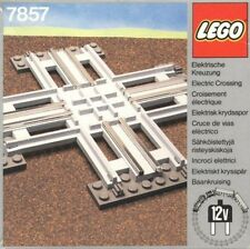 LEGO Bulk Part 7857 12V Train Electric Crossing Track VINTAGE RARE RAIL IN BOX