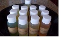 LOT OF Twelve (12) ONE (1) OZ. EACH Fragrance Oils (Candles/Tarts/Lotions/Soaps)