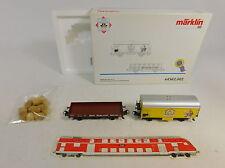 Au4-1# Märklin PMS h0/ac Set 44562.002: carrello di raffreddamento + bassa bordo Carro DB, Neuw + OVP