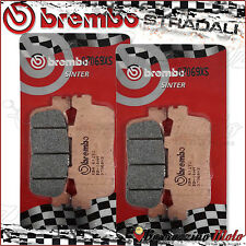 4 PLAQUETTES FREIN ARRIERE BREMBO FRITTE SYM TRACKRUNNER 200 2008 2009