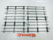 BW99-1 #10x Märklin Escala 0 Piezas de vía Recto (26cm) para Accionamiento Reloj