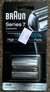 Braun Series 7 70S Cassette Replacement Pack - Silver