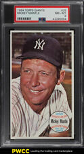 1964 Topps Giants Mickey Mantle #25 PSA 8 NM-MT (PWCC)