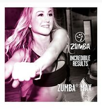 Zumba Fitness MAX DVD-Incredible Results-Super High Energy Live Class w Beto.New