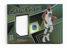"KEVIN DURANT 2017/2018 SPECTRA "" CATALYSTS "" PRIZM / JERSEY #CAT-18 /199 $30.00"