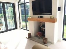 Solid Wood Modern Fireplace Mantelpieces & Surrounds