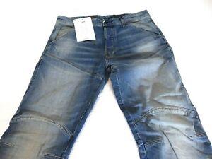 Men's G Star Elwood Raw Denim Jeans 3D Straight 5620