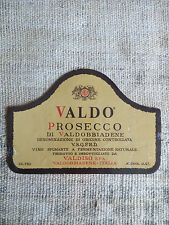 Etichetta vino - Valdo Prosecco di Valdobbiadene - Italia