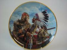 FRANKLIN MINT AMERICAN INDIAN IN THE BEGINNING..FRIENDS PLATE