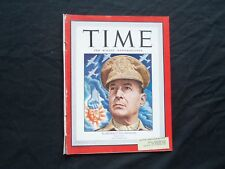 1944 OCTOBER 30 TIME MAGAZINE - GENERAL MACARTHUR - T 940