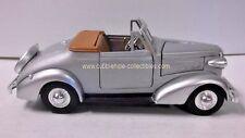 1937 Chevrolet Cabriolet Convertible in Grey 1:32 Loose Car, As is