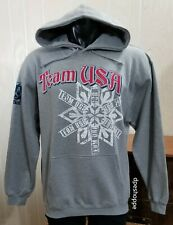 Team USA 2010 Vancouver Olympics Gray Pullover Hoodie XP Apparel Sz M