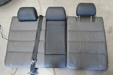 01-05 Audi C5 Allroad OEM Rear Seat Back Black/Gray Leather