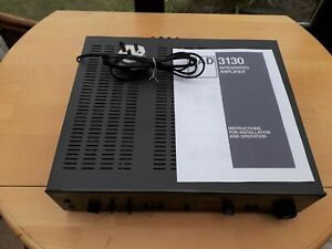 NAD 3130 Amplifier. VGC. Refurbished, repaired and recalibrated. No reserve.