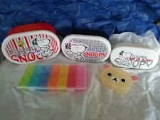 More details for job lot 3 containers & 2 pill boxes & 1 beatrix potter jemima puddleduck ...