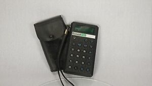 VINTAGE TEKNIKA GENERAL CALCULATOR LED 812A TESTED AND WORKING IN CASE