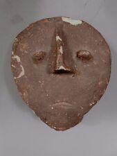 Africa African Akan People Funerary Memorial Pottery Head Nsodie Sculpture