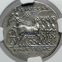 SYRACUSE in SICILY Philistis Hieron II WIFE SILVER Ancient Greek Coin NGC i82945